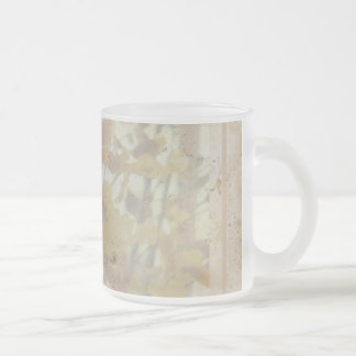 Orchids Etched in Stone Mug