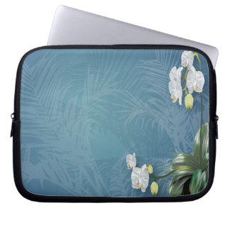 Orchids & Ferns Computer Sleeves