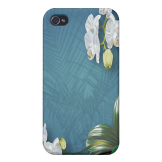 Orchids & Ferns iPhone 4/4S Cover