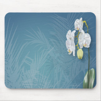 Orchids & Ferns Mouse Pad