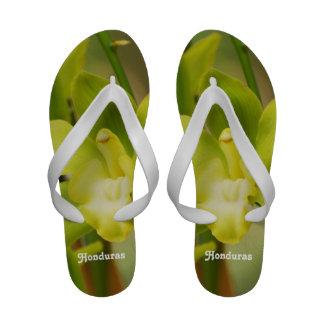 Orchids Flip-Flops