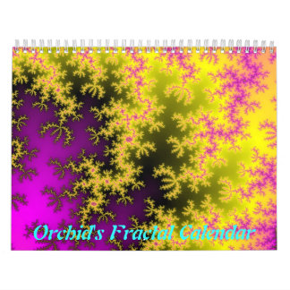 Orchid's Fractal Calendar (Updated 2012)
