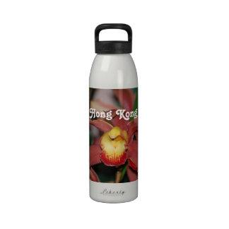 Orchids in Hong Kong Water Bottles