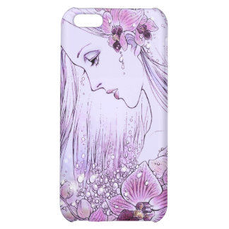 Orchids in the Rain iPhone 4 Case