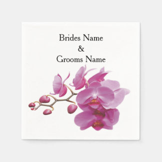 Orchids Inexpensive Wedding Packages Sets Kits Napkin