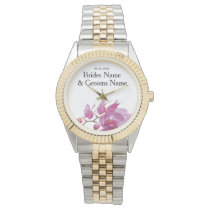 Orchids Inexpensive Wedding Packages Sets Kits Wristwatch