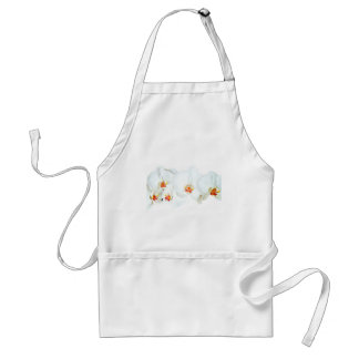 Orchids Love_ Adult Apron
