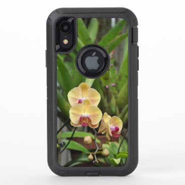 Orchids OtterBox Defender iPhone XR Case