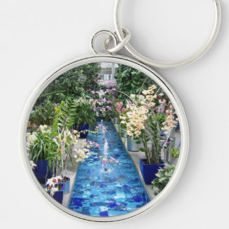 Orchids show keychain