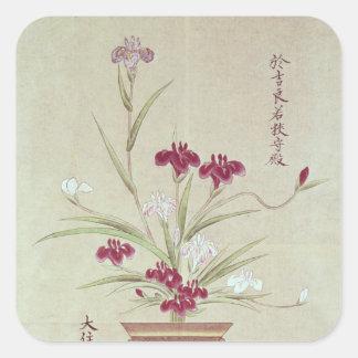 Orchids Square Sticker