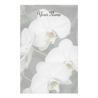 Orchids stationary stationery