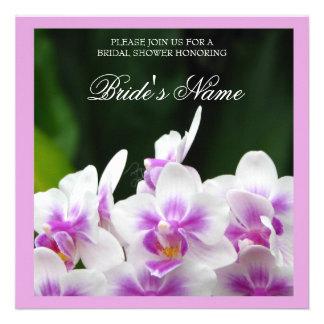 Orchids Wedding Shower Invitation