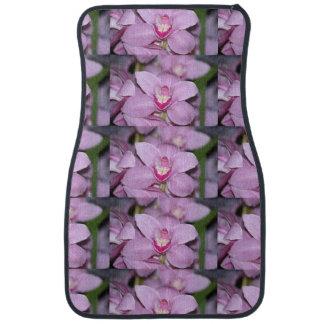 Orchids Car Mat