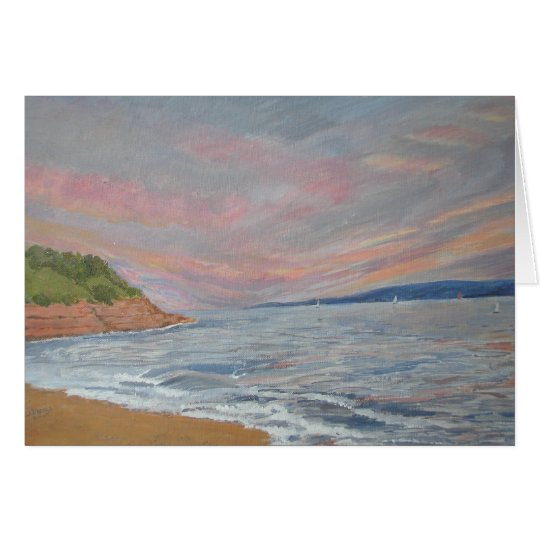 Orcombe Point Exmouth Devon UK Card