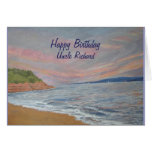 Orcombe Point up Exmouth Devon UK Greeting Card