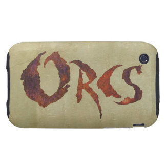 Orcs iPhone 3 Tough Cover