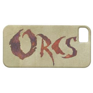 Orcs iPhone SE/5/5s Case