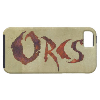 Orcs iPhone SE/5/5s Case