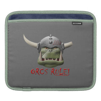 Orcs Rule! Sleeve For iPads