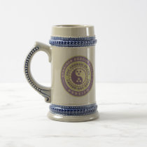 Ordained Dudeist Priest Beer Stein
