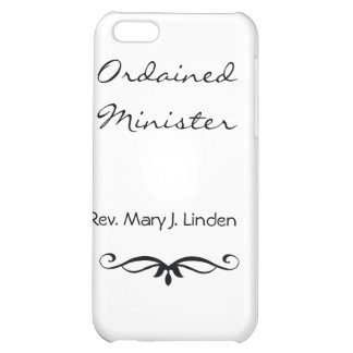 ORDAINED MINISTER GIFTS IPHONE 5 CASE DESIGN