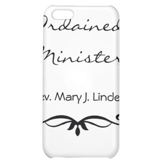 ORDAINED MINISTER GIFTS COVER FOR iPhone 5C