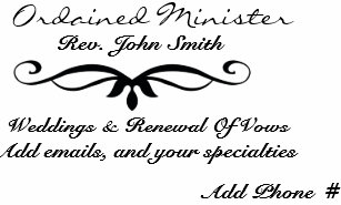 Minister business cards zazzle ordained ministers business card colourmoves