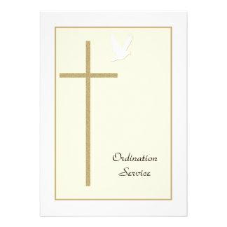 Ordainee to be Church Ordination Invitation Invite
