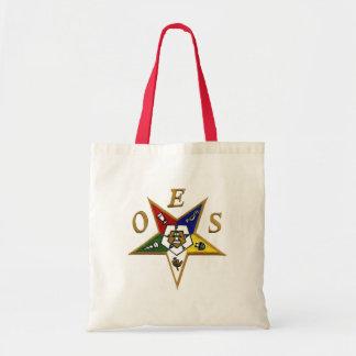 Orden de la estrella del este bolsas lienzo