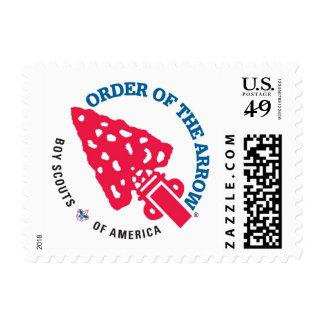 Orden de la flecha timbres postales