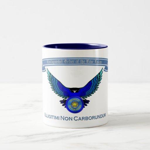 Orden de la taza azul del halcón