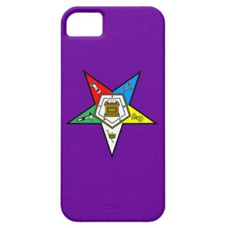 Orden de OES de la púrpura del este del caso de Funda Para iPhone 5 Barely There