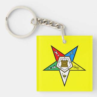 Orden de OES del amarillo del este del llavero de