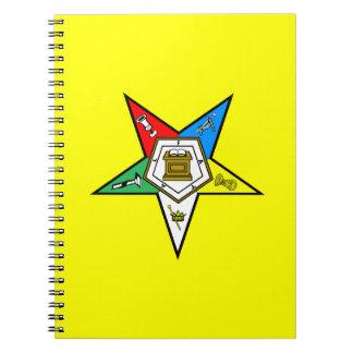 Orden de OES del cuaderno del este de la estrella