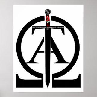 Orden de templario Alfa y Omega póster 01