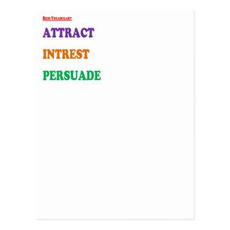 Orden del día de la palabra de la sabiduría 3: Des Postales
