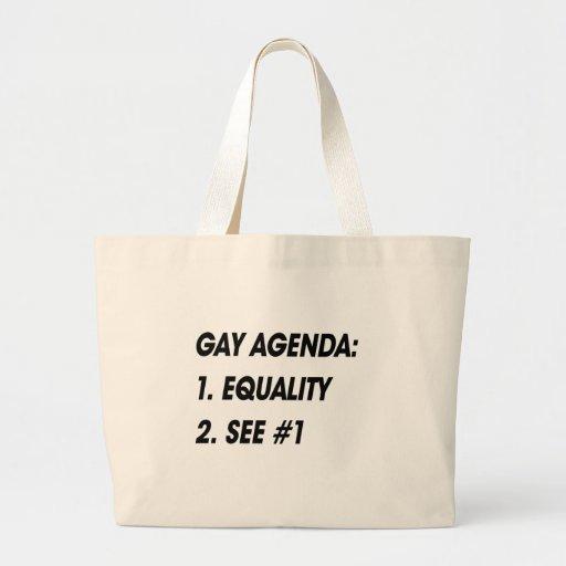 ORDEN DEL DÍA GAY - IGUALDAD BOLSA