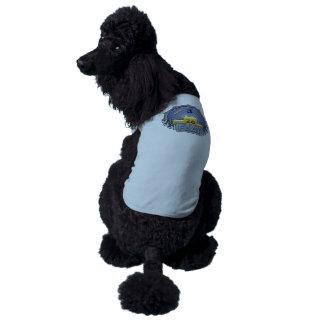 Orden del logro de la interferencia de la tercera playera sin mangas para perro