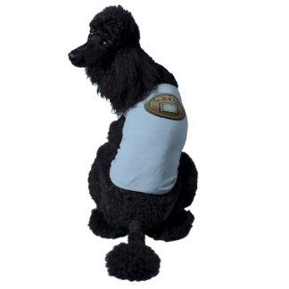 Orden del logro de la interferencia del atesorador playera sin mangas para perro
