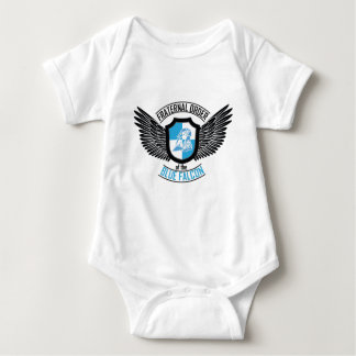 Orden fraternal del halcón azul, halcón azul body para bebé
