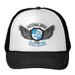 Orden fraternal del halcón azul, halcón azul gorros bordados
