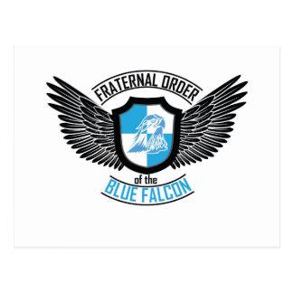 Orden fraternal del halcón azul, halcón azul tarjeta postal