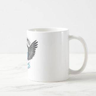 Orden fraternal del halcón azul, halcón azul taza básica blanca