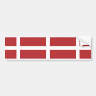 Orden militar soberana bandera de Malta Panamá Pegatina De Parachoque