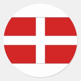 Orden militar soberana de Malta Etiqueta Redonda