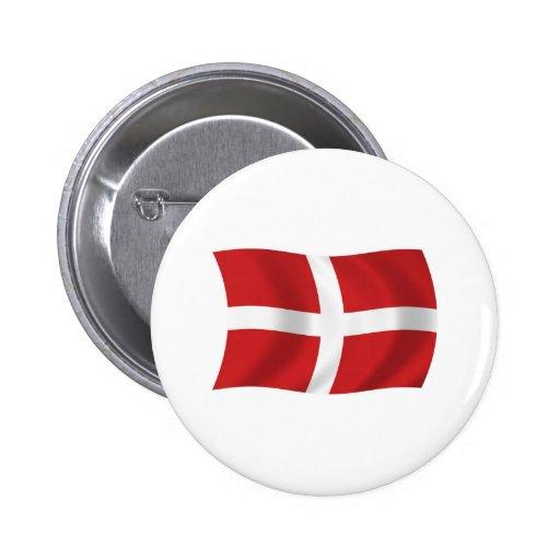Orden militar soberana del botón de la bandera de