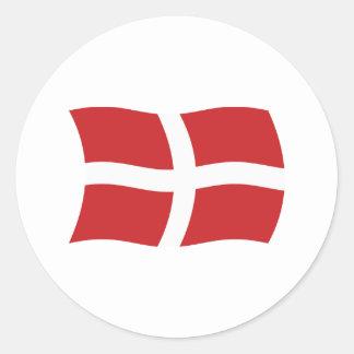 Orden militar soberana del pegatina de la bandera
