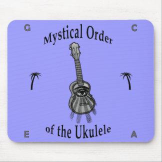 Orden mística del Ukulele Alfombrillas De Ratón