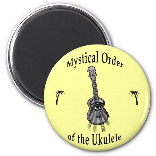 Orden mística del Ukulele Iman De Frigorífico