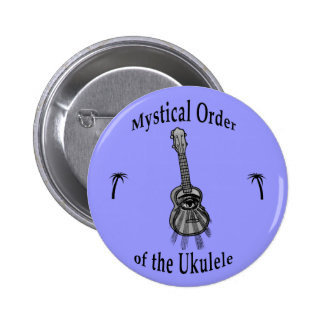 Orden mística del Ukulele Pin Redondo 5 Cm